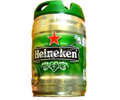 Heineken - Barril 5 Litros