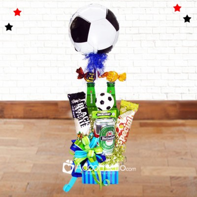 Pap futbolero ancheta de regalos d a del padre for Regalos para el hogar decoracion