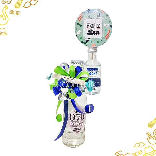 Regalos Dia Del Padre Mini Vodka Decorado A Domicilio En Cali