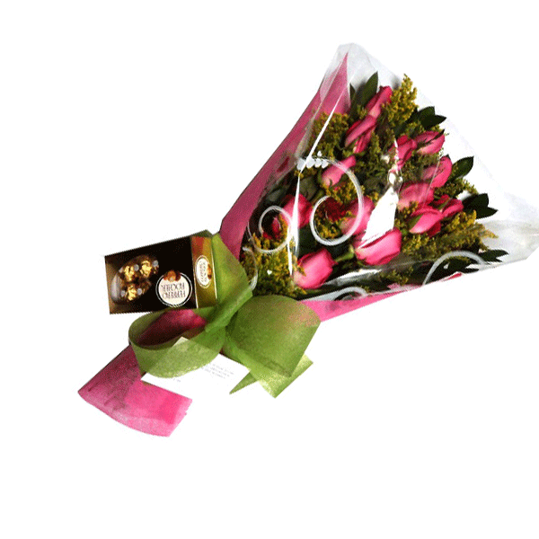 Bouquet Especial mas chocolates Medellin