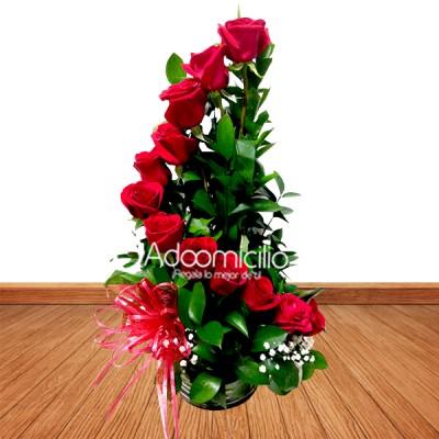 Arreglos Florales A Domicilio En Medellin Espiral Mini