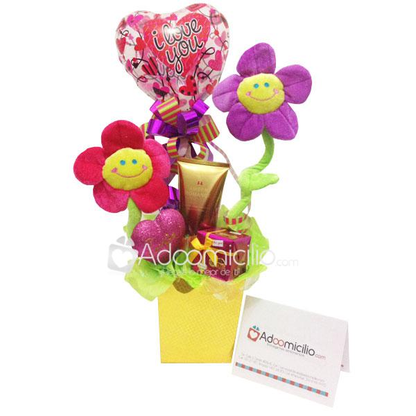 Ancheta de regalo Flowers Cali