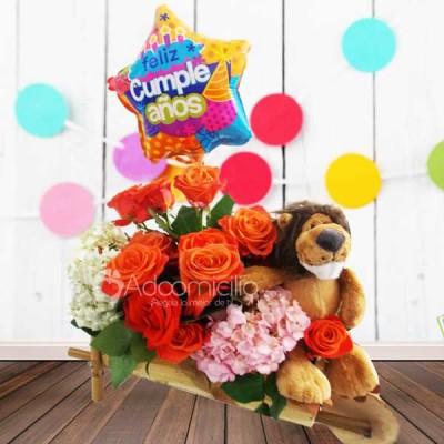 Regalos de cumplea os cali carroza flores para ti for Regalos de amistad para hombres