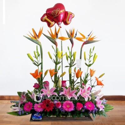 Arreglos Florales A Domicilio En Bogota Arreglo Floral Jardinera Especial