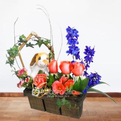 Arreglos Florales A Domicilio En Bogota Arreglo Floral Milu