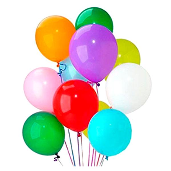 Bouquet globos con helio latex liso bogota - Gas helio para globos precio ...