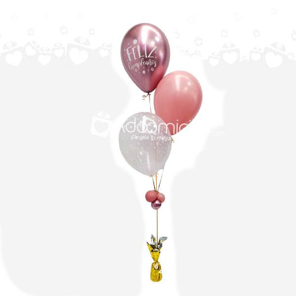 Globos en helio estampados lisos cientos de formas y - Llenar globos con helio ...