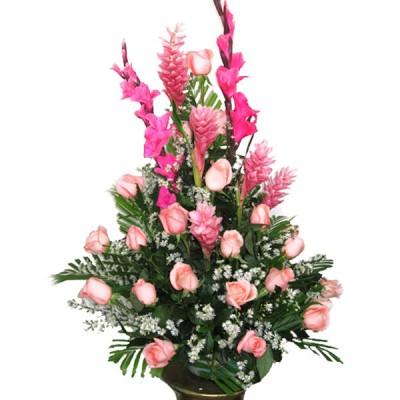 Rosas Rosadas Arreglos Florales En Cartagena