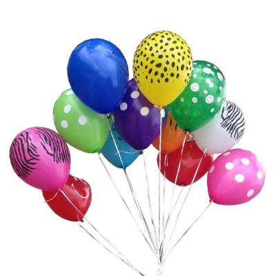 Bouquet x 12 globos estampados en helio a domicilio en - Como conseguir globos de helio ...