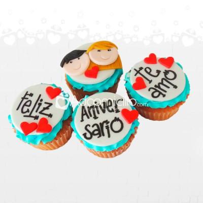Cupcakes Aniversario Cupcakes A Domicilio En Cali