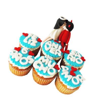 Cupcakes Aniversario Pedido Con 3 Dias De Anticipado