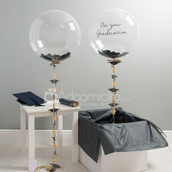 Globos en helio estampados lisos cientos de formas y for Decoracion de globos para hombres