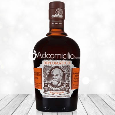 Regalos con licor a domicilio en Cali Ron Diplomatico Mantuano x 750 ml