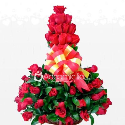 Arreglo Floral Para El Dia De La Madre X 36 Rosas En Cali A Domicilio