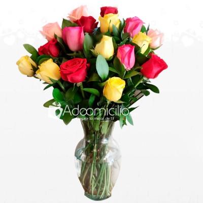 Flores Para El Dia De La Madre Arreglo Floral En Jarrón A Domicilio En Cartagena