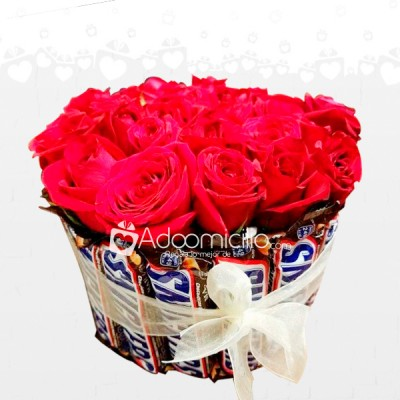 Rosas Y Chocolates Arreglos Florales A Domicilio En Armenia