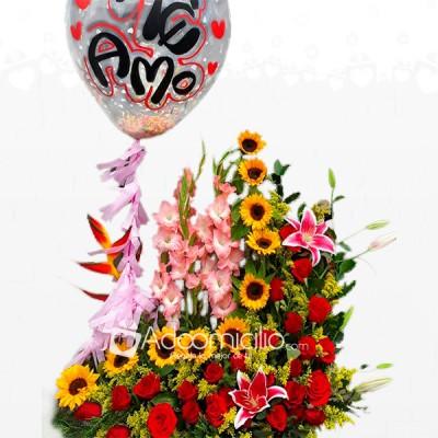 Arreglos Florales Para Mamá Girasoles Y Rosas En Armenia A Domicilio