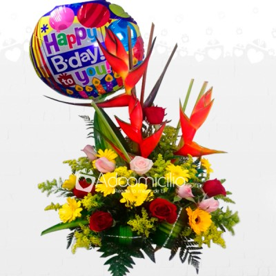 Celebración Arreglos Florales A Domicilio En Barranquilla