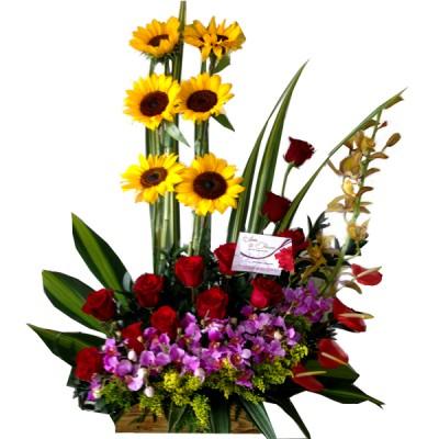 Arreglo Floral Especial Para La Madre