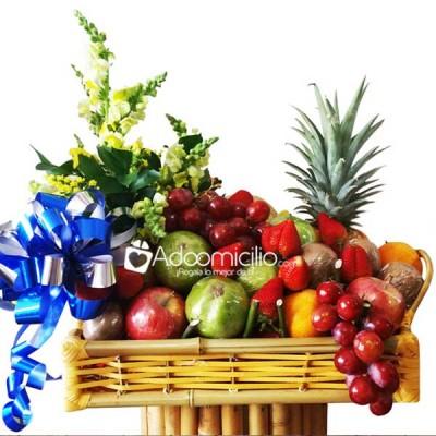 Arreglos Florales Con Frutas Cali Frutero Tropical