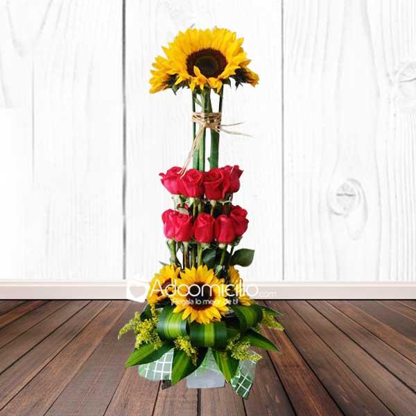 Flores y arreglos florales en cali arte y flores for Arreglos de rosas sencillos